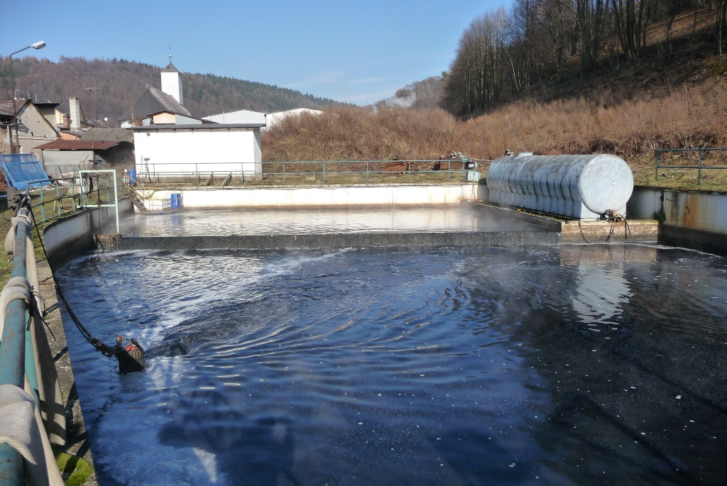 CNM textil a.s. - Improvement of a sewage treatment
